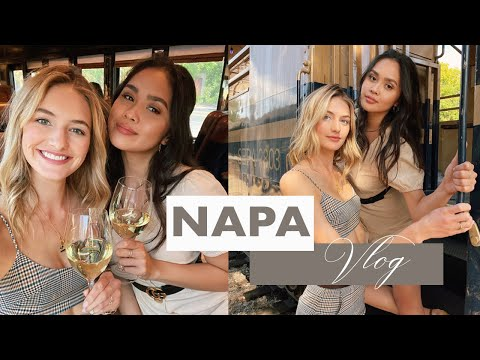 Napa Valley Girls Trip  Wine Lovers Tipsy Train Rides & Wine Country Fashion  Sanne Vloet
