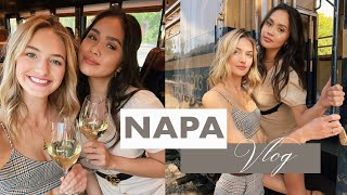 Napa Valley Girls Trip   Wine Lovers, Tipsy Train Rides, & Wine Country Fashion   Sanne Vloet