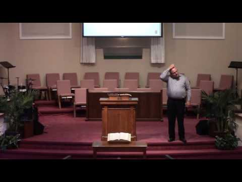 Sermon -- Chris Walls -- August 21, 2016