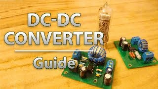 DC-DC преобразователи 12-5 В и 12-180 В | Step-Down Converter 12-5 V | Step-Up Converter 12-180 V