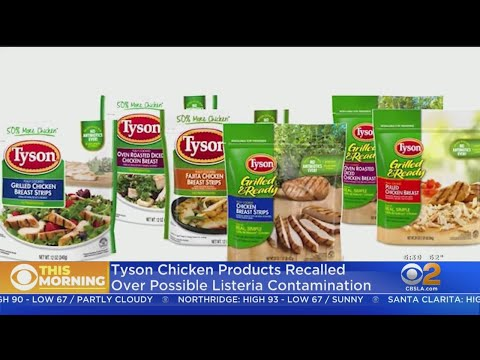 Tyson-Recalls-Chicken-Products-Due-To-Possible-Listeria-Contamination