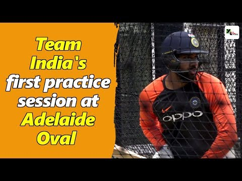 Watch: Team India's First Practice Session At Adelaide Oval | Australia Vs India