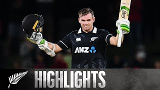 Latham leads chase with fifth ODI century | 2nd ODI SHORT HIGHLIGHTS | BLACKCAPS v Bangladesh