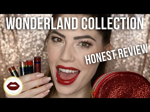 FIRST IMPRESSION: Wonderland LipSense Limited Edition   Candy Cane, Currant, Sugar Plum