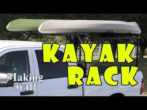DIY Kayak Rack for Pickup Truck