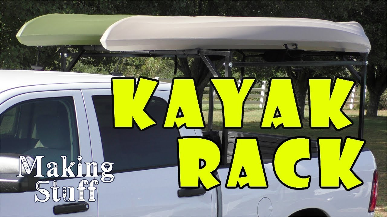DIY Kayak Rack for Pickup Truck - YouTube
