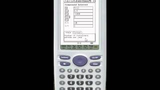 Repeat youtube video Finance - compound interest on the Casio Classpad 330
