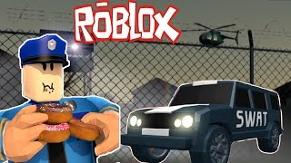 ROBLOX - JAIL BREAK !!! - CATCH ALL BAND