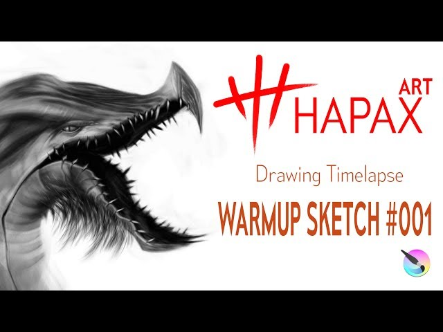 Let's Draw | Warmup Sketch #001