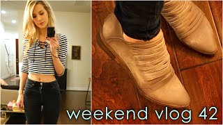 NEW BOOTS! + Sickly Shopping | weekend vlog 42