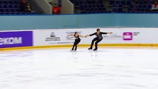 Короткая программа Юниоры Пары Казань Кубок России по фигурному катанию 2020 21 Четвертый этап