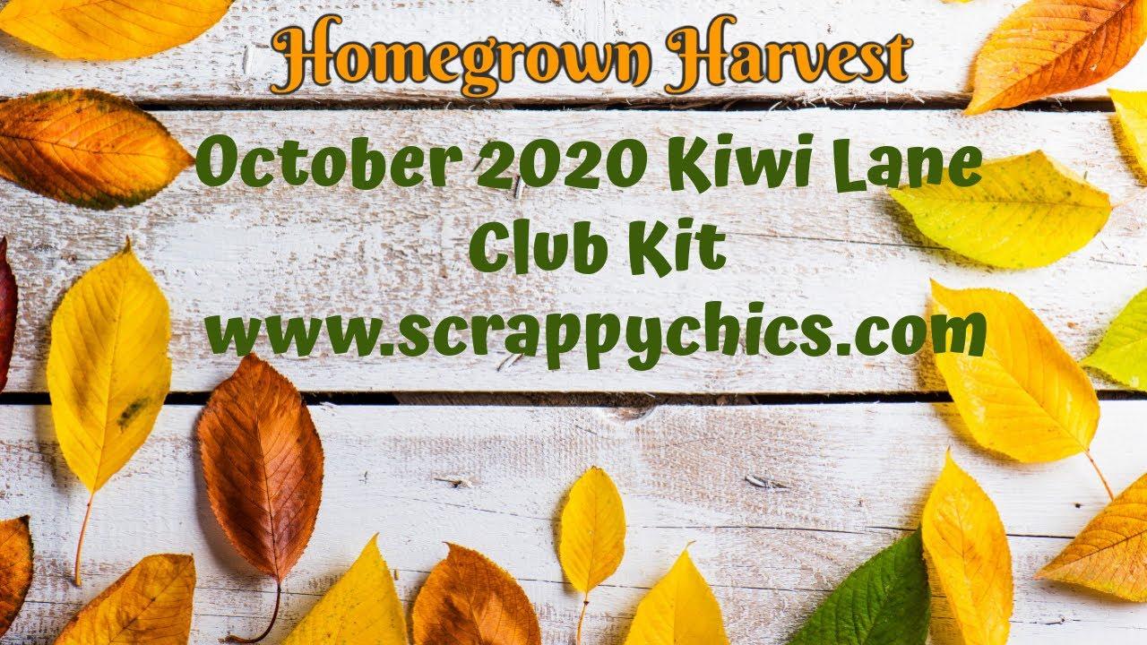 Homegrown Harvest 2020 October Kiwi Club Kit Un-boxing!