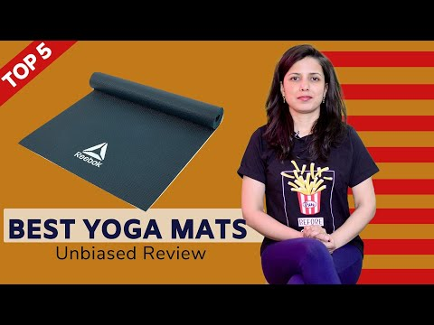 ✅ Top 5: Best Yoga Mats in India 2020 | Yoga Mats Review & Comparison