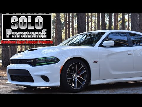 2015+ Charger 392 - Solo Performance Catback Exhaust