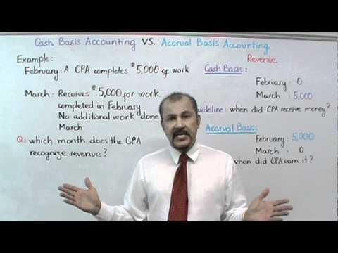 Cash Basis Accounting vs. Accrual Basis Accounting (Part I): Revenue