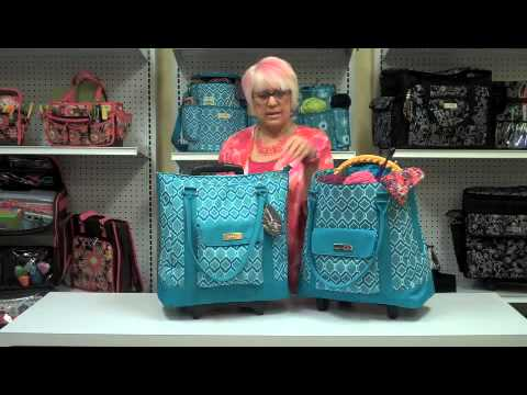 Everything Mary Originals Rolling Yarn Tote - YouTube 7710774df5