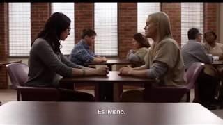 oitnb alex visits piper in prison 2x13 sub español