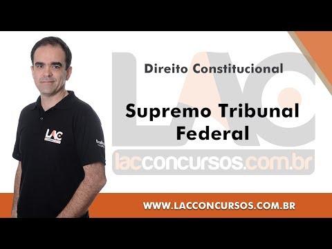 Supremo Tribunal Federal - Direito Constitucional