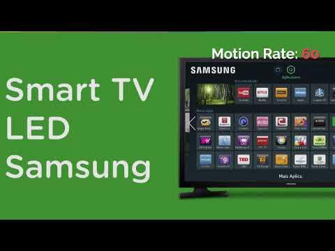 acd061f11 Smart TV LED 40 Full HD Samsung UN40J5200 2 HDMI 1 USB Wi-Fi Integrado  Conversor Digital