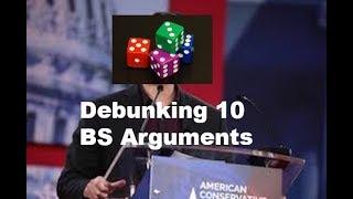 Ten Horrible Ben Shapiro Arguments Debunked