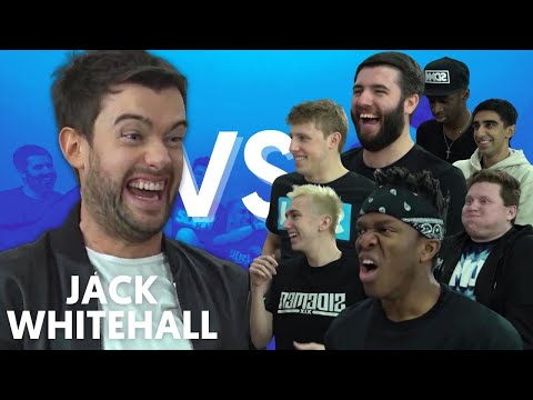 JACK WHITEHALL VS SIDEMEN | FIFA Trivia, Innuendo Bingo, Accent Challenge + More!