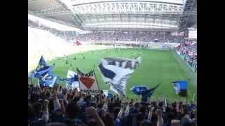 2013/5/6 G大阪×神戸 試合前ゴール裏 声だし