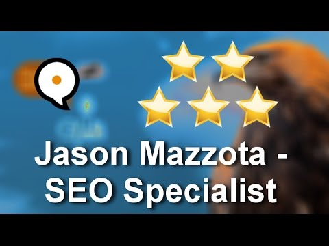 Jason Mazzota - SEO Specialist Tequesta Excellent 5 Star Review by Larry S.