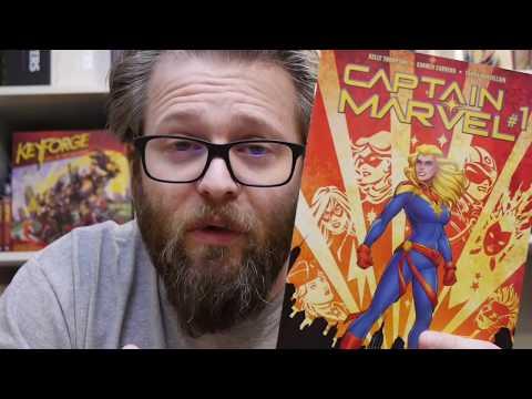 Marvel Comics Review: Captain Marvel (2019) #1