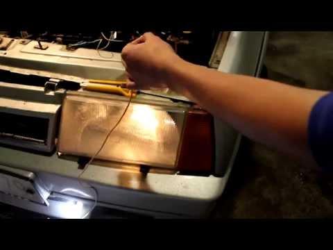 Как правильно подключить ДХО(дневные ходовые огни) на ВАЗ через 5 контактное реле