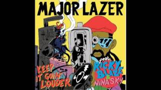 Download Major Lazer feat. Ricky Blaze & Nina Sky - Keep It Goin' Louder [[Audio]]