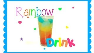 ❤ Make a Rainbow Drink ❤ Thumbnail