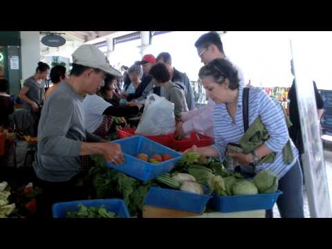 Organic Farmers' Market in Hong Kong