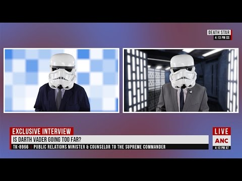 Is Darth Vader Going Too Far?  - Alderaan News Channel Exclusive Interview