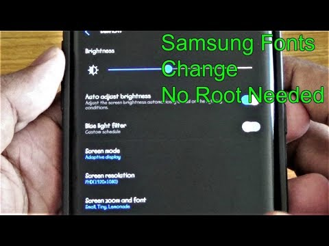 Install Fonts || Samsung || No Root Needed  #Smartphone #Android