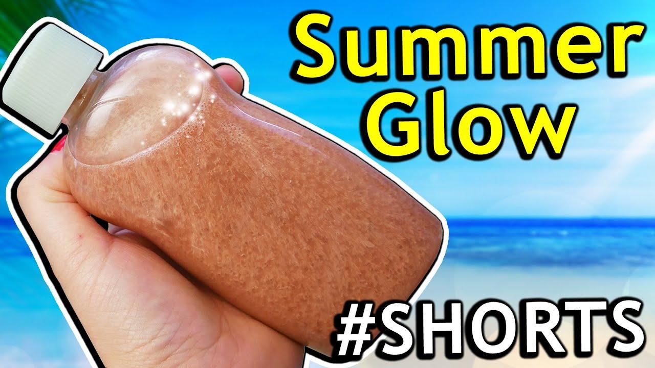 Ferien Ideen gegen Langeweile 🌞 Summer Glow aus Highlighter #Shorts