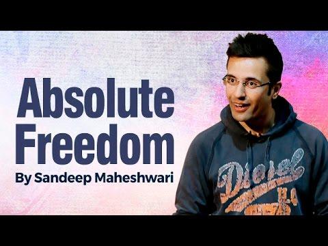 Absolute freedom by sandeep maheshwari i hindi youtube - Treehouses the absolute freedom ...