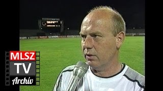 Vasas-Diósgyőr | 2-0 | 2000. 04. 29 | MLSZ TV Archív