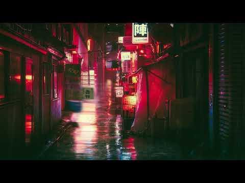TOKYO RAIN: Japan Night Ambience asmr - Urban Street with Rain Sounds
