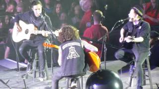 Fall Out Boy - Where Is Your Boy Tonight (Acoustic) (Manchester Arena, 17th March 2014)