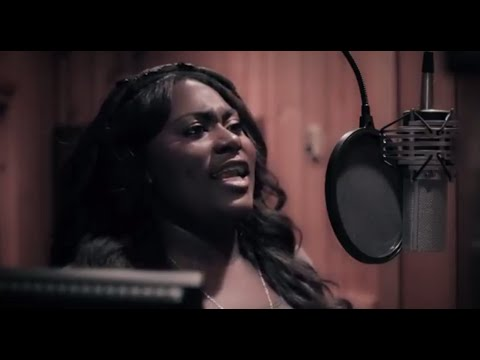 Danielle Brooks at the Recording Studio  THE COLOR PURPLE on Broadway
