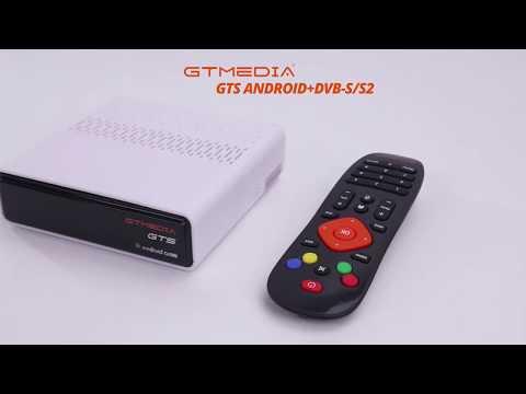 GTMEDIA GTS Android 6.0 TV BOX DVB-S2 Satellite TV Receiver