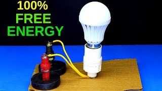 New Free Energy Generator 100% With Magnets 2019 - Free Energy Experiment Using Magnets