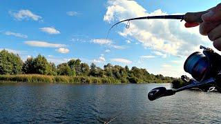 ЖОР ЩУКИ на вечерней зорьке С такой рыбалки уезжать не хочется Рыбалка на спиннинг осенью