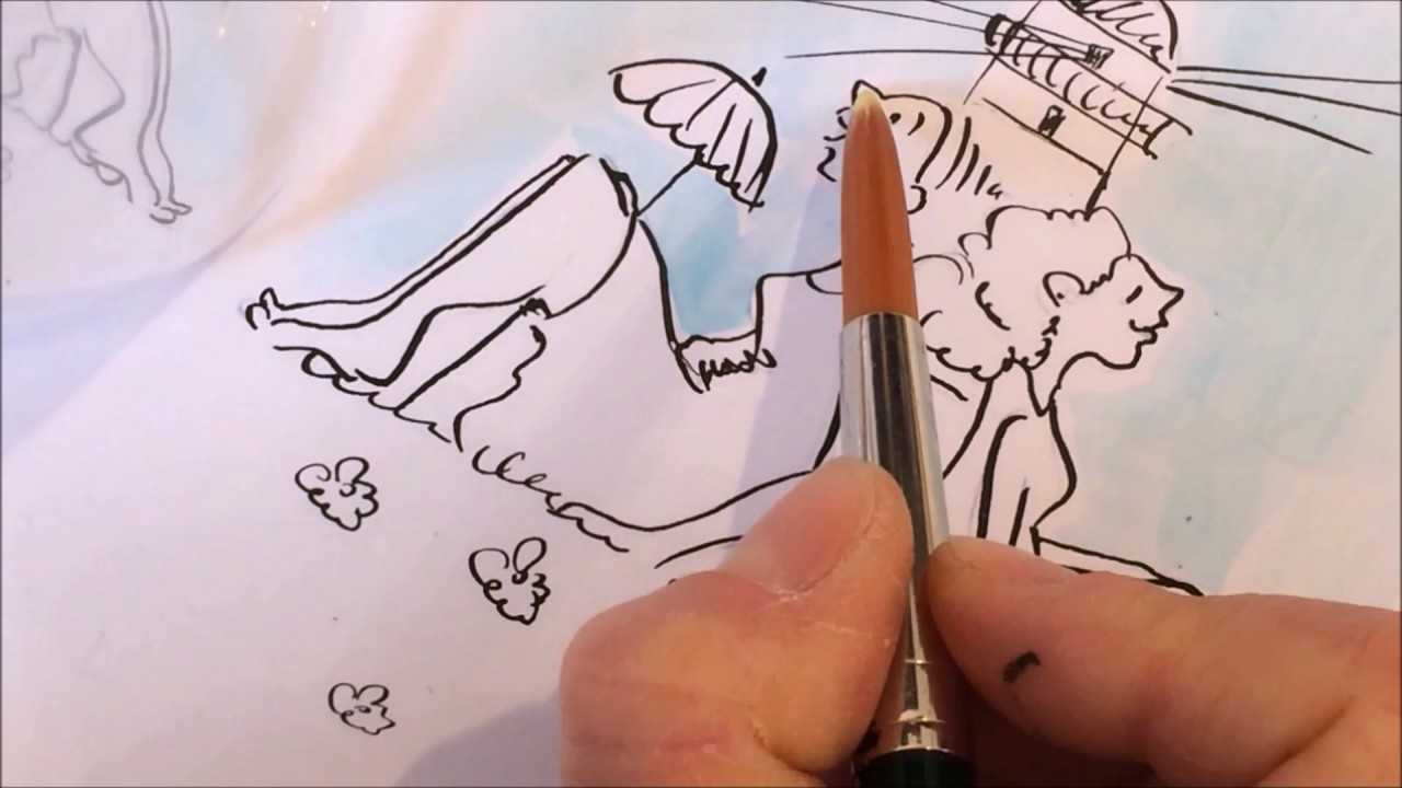 Karin Tauer Zeichnet Für Kanzlit Youtube