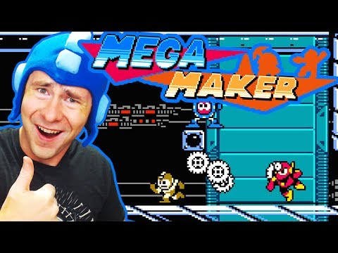 Mega Maker ~ MY FAVORITE GAME SERIES HAS A LEVEL EDITOR NOW!