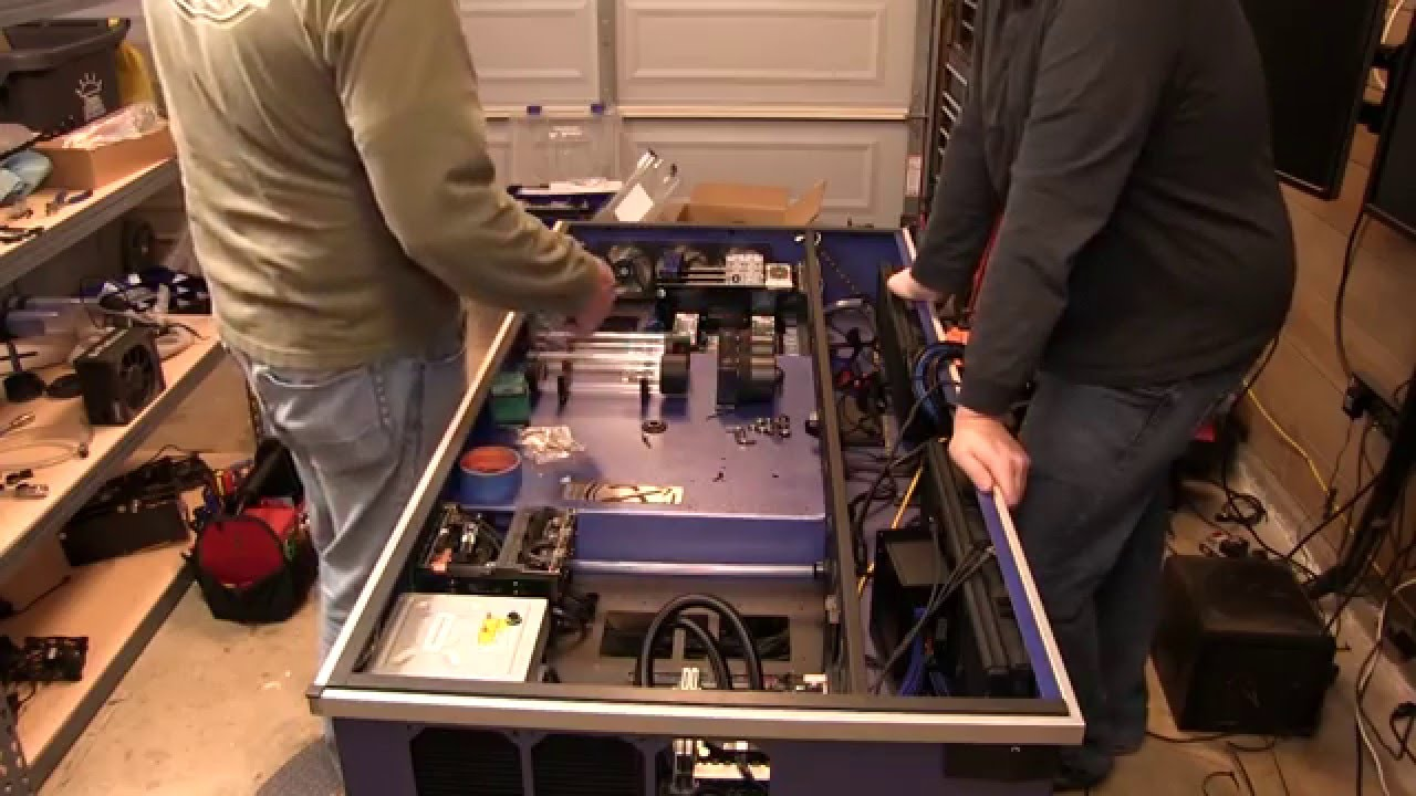 RH Desk upgrade complete  YouTube