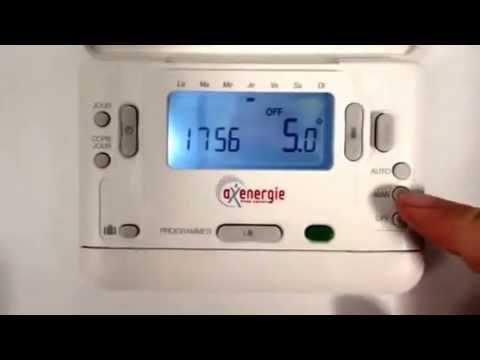 Fonctionnement D Un Thermostat D Ambiance Youtube