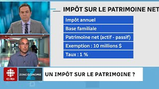 Taxer les riches : propositions du NPD