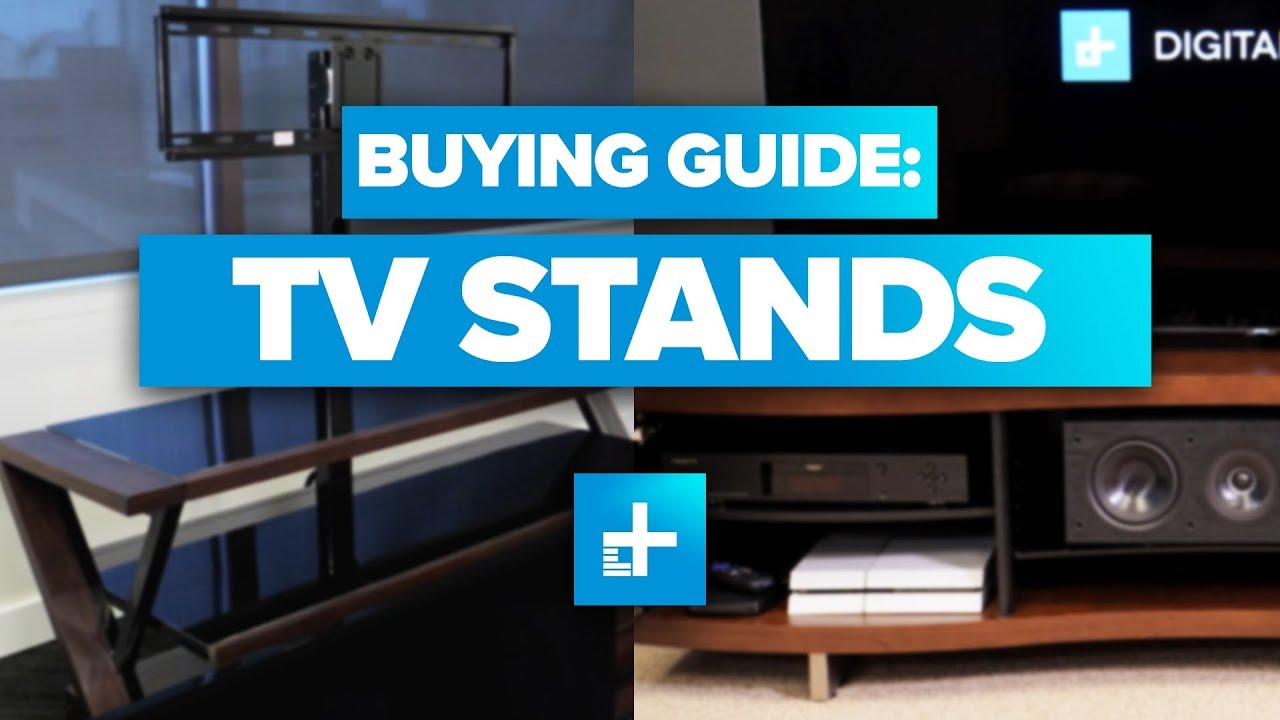 Home Theater Buying Guide: TV Stands - YouTube