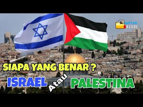 SEJARAH YANG SEBENARNYA - AWAL ISRAEL DI TANAH PALESTINA